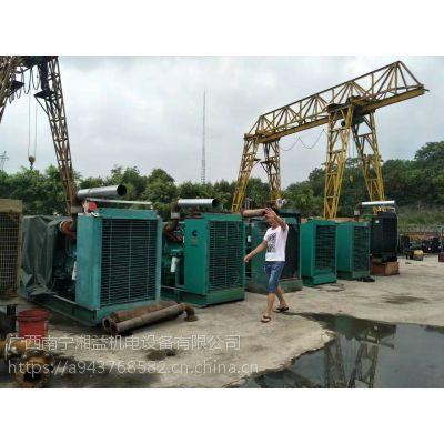 广西出售二手柴油发电机组配件 维修出租