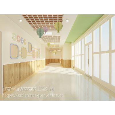 许昌幼儿园设计门道及教室色调做法许昌幼儿园装修找河南天恒装饰