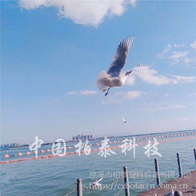 东钱湖核心区警示浮标 新型环保塑料浮漂警示标志