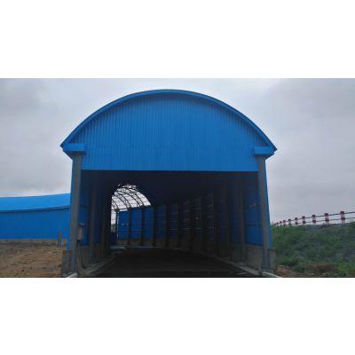 驾校模拟隧道钢结构顶棚 透波材料 透波板 墙板 大连 防火屋面板 凡美 830树脂瓦