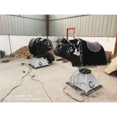 户外娱乐玩具西班牙斗牛机 仿真机械斗牛机游乐设备 翻转骑牛机电动斗牛机价格