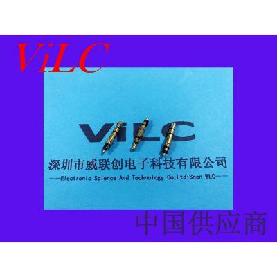 镀金PJ耳机插头-23L-三段式立体声耳机线插头-焊线式 威联创供应