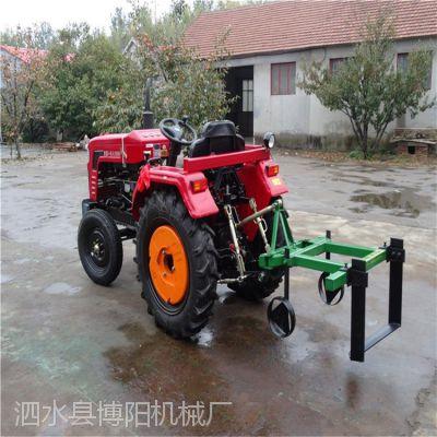 甘肃洋姜收获机 小型牵引式起苗机 多功能葱姜收获一体机博阳供应