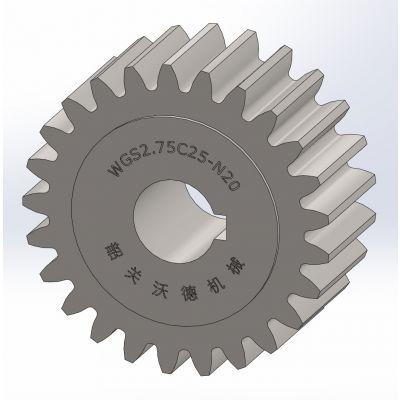 供应标准直齿轮【 M2.75 】,C型,精密齿轮,正齿轮