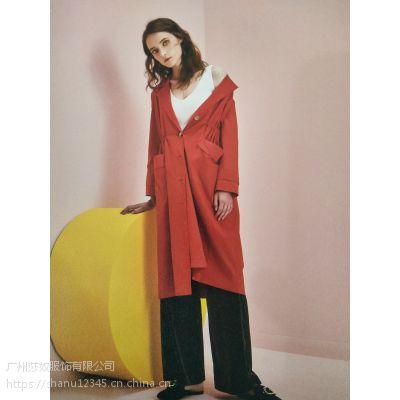 杭州知名品牌女装帛兰雅19年春装时尚休闲都市专柜正品库存货源