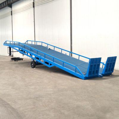 8吨仓储物流装卸平台 货车登车桥 液压式翻转调节板生产厂家