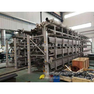 四川重型悬臂货架厂家 伸缩双悬臂货架定做 专业放棒材 节约空间