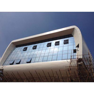 造型双曲铝单板幕墙,艺术曲面铝单板天花吊顶