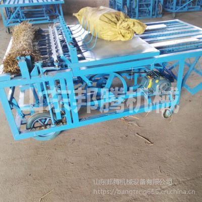大棚保温自动编织机 猪牛羊棚舍搭建草帘机 防寒草帘子加工机器