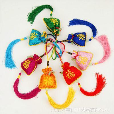 新品香包手工刺绣空袋香包香囊空袋子出国送老外纪念礼品