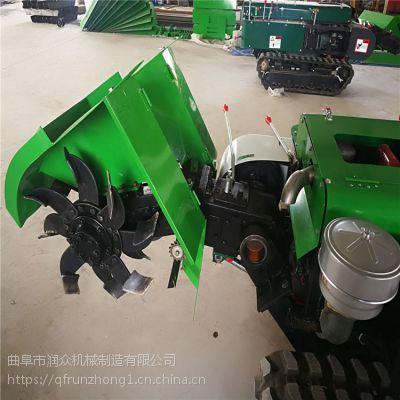 防滑履带柴油开沟机 果园履带式施肥机 小型回填安耕机