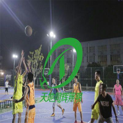 TDH-TG0710室外篮球场防眩灯|篮球场旧灯更换|天地同辉球场灯|篮球场一杆双灯价格