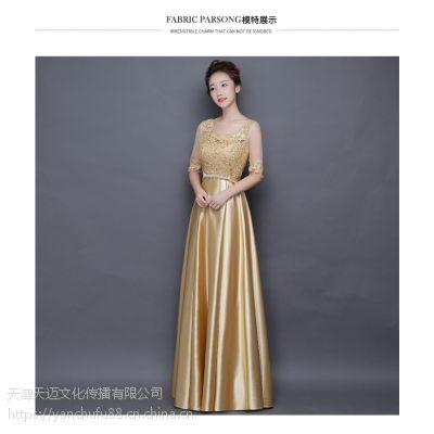 天津主旋律演出服装出租各种款式主持人年会服装
