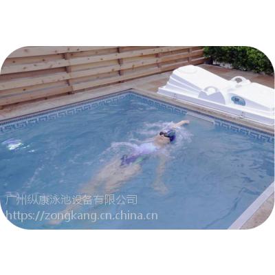游泳池设备系统的分类-机房砂缸过滤-一体机整体过滤系统-无边际泳池机组