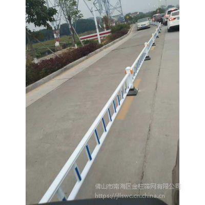 ?广东湛江高速防撞栏道路交通护栏高强度易维护人行道U型栏杆