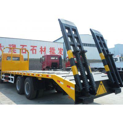 145平头豪华20吨单桥挖机拖车/楚风前四后八4.75L拉挖掘机拖车厂家价格