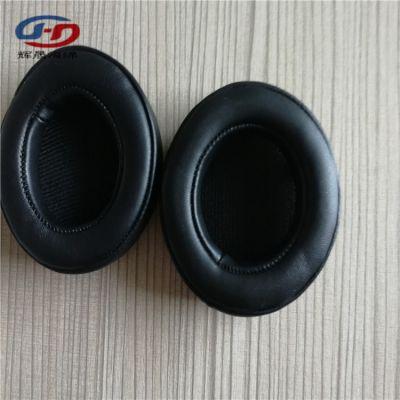 辉晟专业定制120mm大耳机套 立体拼接PU皮耳罩