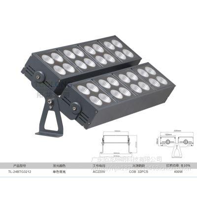 拓龙照明多头模组一束光射灯一束光投光灯一束光聚光灯400W大功率远程投光灯洗墙灯