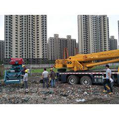围堰式泥浆固化施工、建筑砂泥水脱水设备