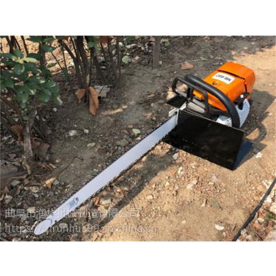 园林松柏移植挖树机 挖掘土球链条移树机 冻土地苗木移苗机