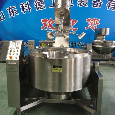 商用不锈钢电磁行星搅拌炒锅 高粘度搅拌炒锅