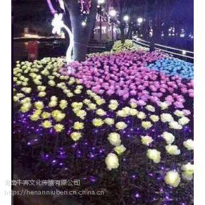 国内知名灯光展公司玫瑰花海 呼吸灯 无限星空制作出售