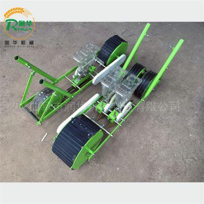 小粒菜种子播种机 四轮车带菠菜播种机 汽油自走式韭菜种植机