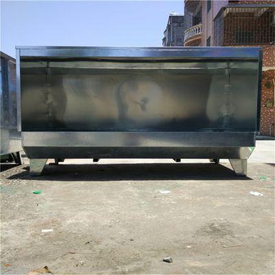 锋易盛厂家供应单人水帘柜 双工位喷油柜 对喷水濂柜 不锈钢喷漆柜