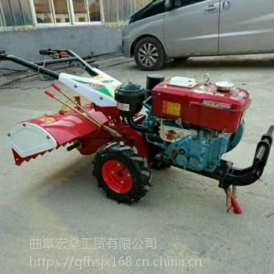 四驱后旋柴油微耕机 除草机起垄开沟器