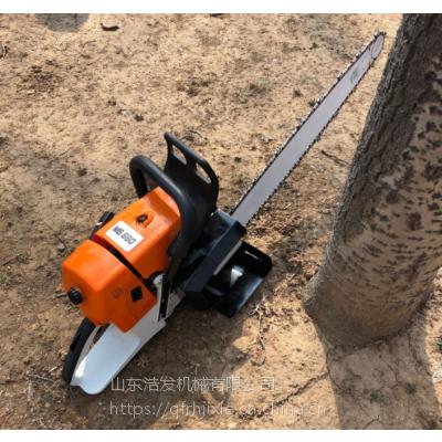 苗圃汽油挖树机 花树移栽起树机 小型移栽挖树机浩发