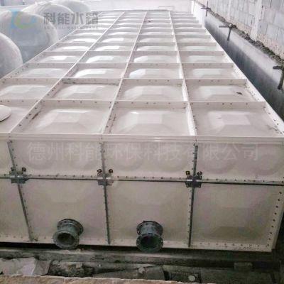 科能玻璃钢森林防火水箱 装配式消防玻璃钢水箱 生活给水设备