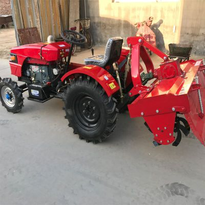 农用小型四轮旋耕机 28马力四轮旋耕机 单缸四驱果园拖拉机厂家