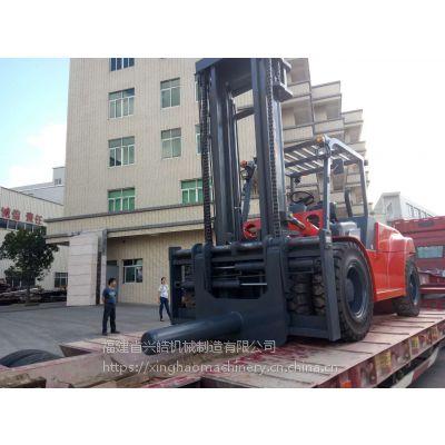 国产XHJX 兴皓机械12吨叉车带串杆专为工厂钢卷搬运作业设计