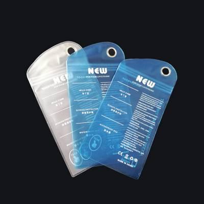深圳PVC防水袋厂家 广东透明布丁袋厂 手机壳包装袋
