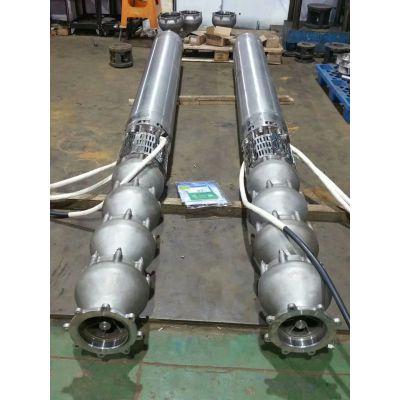 500方大流量矿坑抽水电泵_变频型大口径QKS潜水泵厂家_品牌_图片