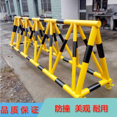 厂家直销可移动拒马 K-5型号重型滑轮拒马 部队防控防暴拒马护栏