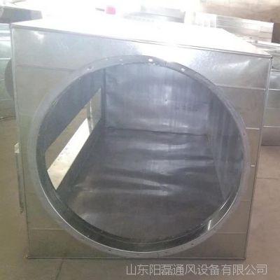 消声静压箱 阻抗静压箱   镀锌板消声静压箱  白铁静压箱 定制