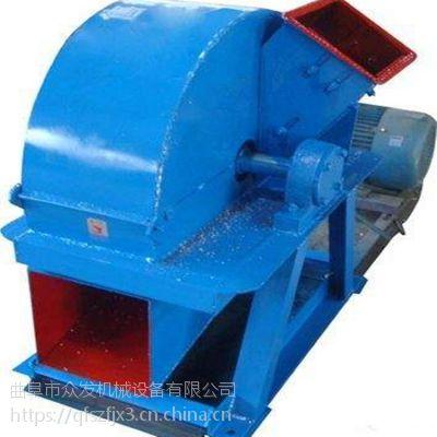 供应双进料口竹片竹子粉碎机 专用木屑木材破碎机