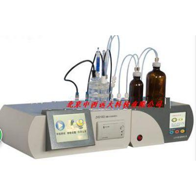 中西(LQS现货)微量水分全自动测定仪 型号:JK05-ZHS1003库号:M396238
