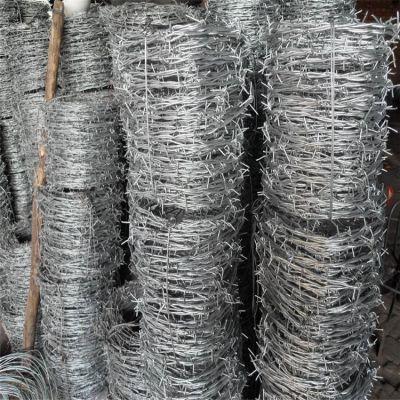 工地防护铁丝网 镀锌刀片刺绳护栏网 围墙用刺绳