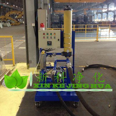 PFC8314-100-H-KP乳化液移动加油小车滤油机