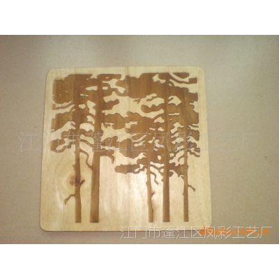 供应装饰画 风景画 树画 激光镂空画 厂家生产