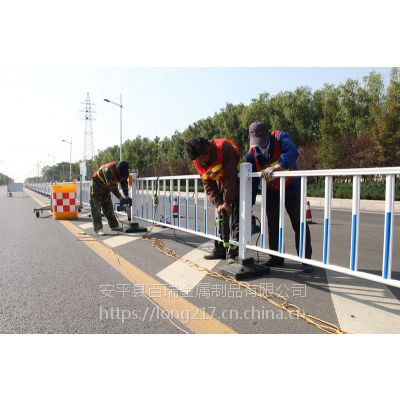 市政护栏-面包管异型管市政隔离栏-交通隔离防护栏