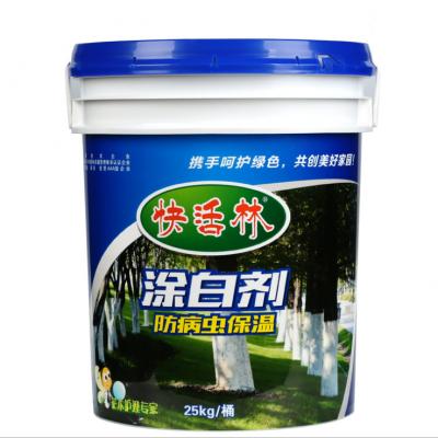 【厂家直销】快活林涂白剂 大树果树防虫保温 树木树干杀菌涂白剂