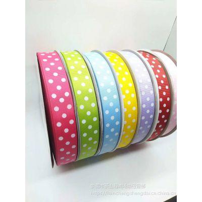 供应平纹织带 罗纹带多色印刷 热转印横纹带 彩带 装饰包装带 绸带 丝带
