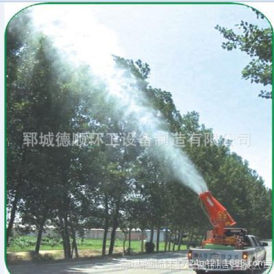 60米车载除尘雾炮机 全自动环保降尘绿化喷雾机 高压移动雾炮机