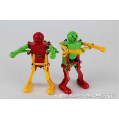 上链跳舞机器人 会跳舞机器人 发条小玩具 可爱有趣 地摊玩具热卖
