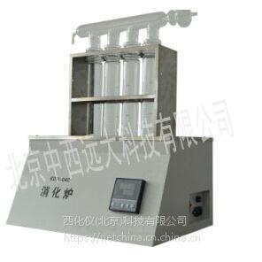 中西 消化炉 (可同时消化4个样品) 型号:LB06/M27264库号:M27264