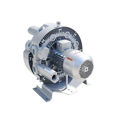小区池塘景观曝气用气环式真空气泵高压漩涡气泵厂家