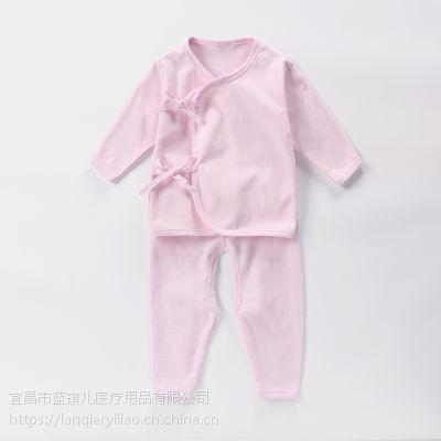 新生儿套装纯棉哈衣无菌套装婴儿上衣和尚服妮贝尔无菌无菌新生儿待产包系列